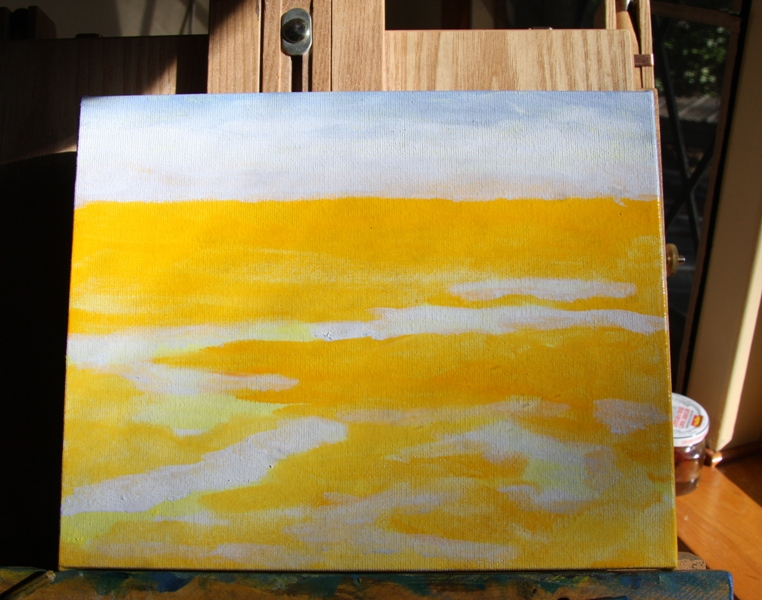 Salish Sea 3 original oil painting by Terrill Welch (1/6)
