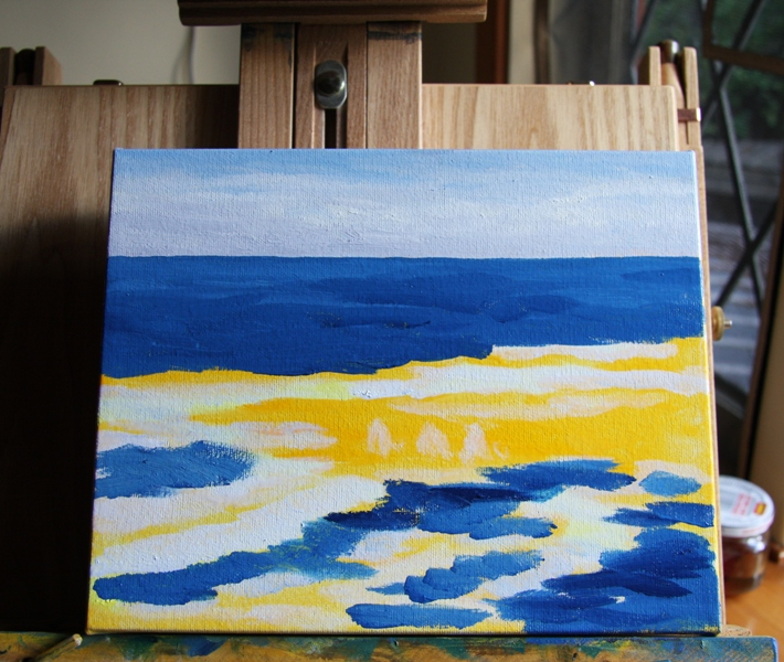 Salish Sea 3 original oil painting by Terrill Welch (2/6)