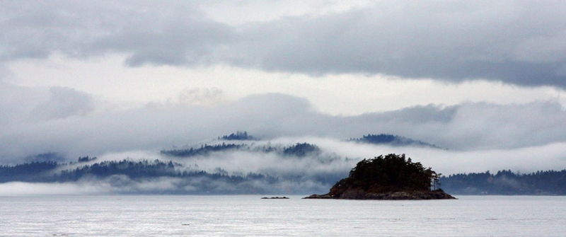 Overture in mist - the southern Gulf Islands in November (6/6)