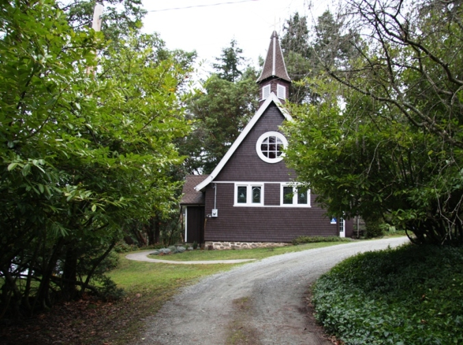 Saint Mary Magdalene Church Mayne Island