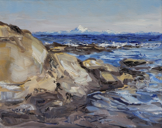 13 The Mt. Baker Reach 8 x 10 inch oil on canvas by Terrill Welch 2013_07_02 015