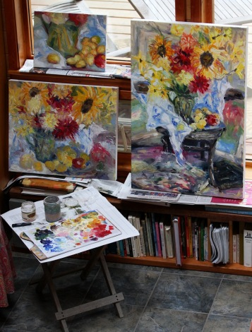 which room for these still life oil paintings by Terrill Welch 2013_08_14 102