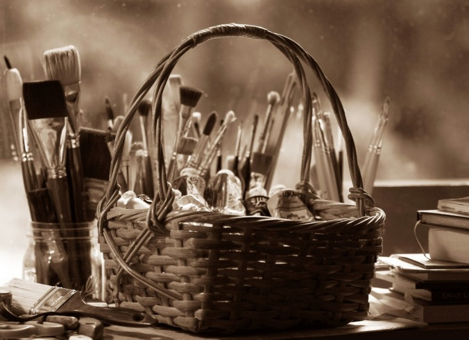 Basket of Paints by Terrill Welch 2013_10_13 013