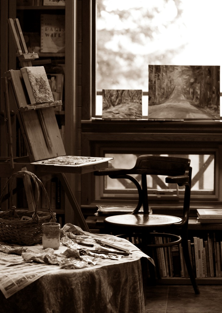Late November Great Room Studio sepia  by Terrill Welch 2013_11_30 033
