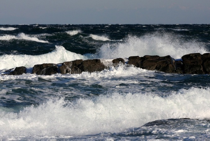 Rough Sea  by Terrill Welch 2013_12_06 142