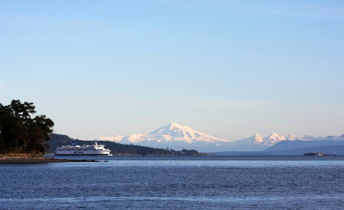 BC Ferry Traffic Inside Passage by Terrill Welch 2014_01_05 128