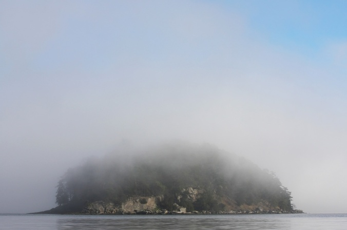 Georgeson Island in winter mist by Terrill Welch 2014_01_24 080