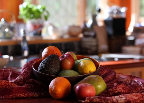 winter bowl of fruit in the kitchen by Terrill Welch 2014_02_05 016