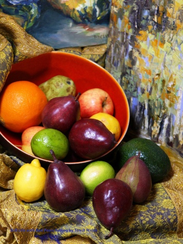 Still Life with Red Pears Falling by Terrill Welch 2014_02_26 013