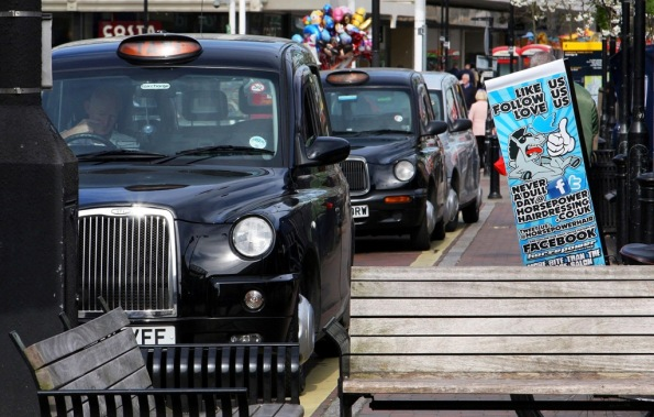 black cabs Uxbridge England by Terrill Welch 2014_04_05 040