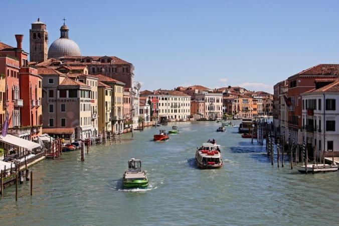 Canal Grande from Porte degli Scalzi Venezia Italy by Terrill Welch 2014_04_14 026