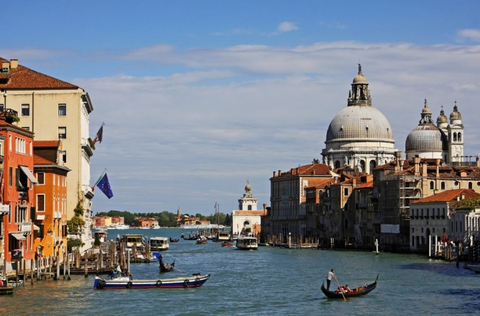 Canal Grande from the Ponte dell'Accademia 1 by Terrill Welch 2014_04_17 050