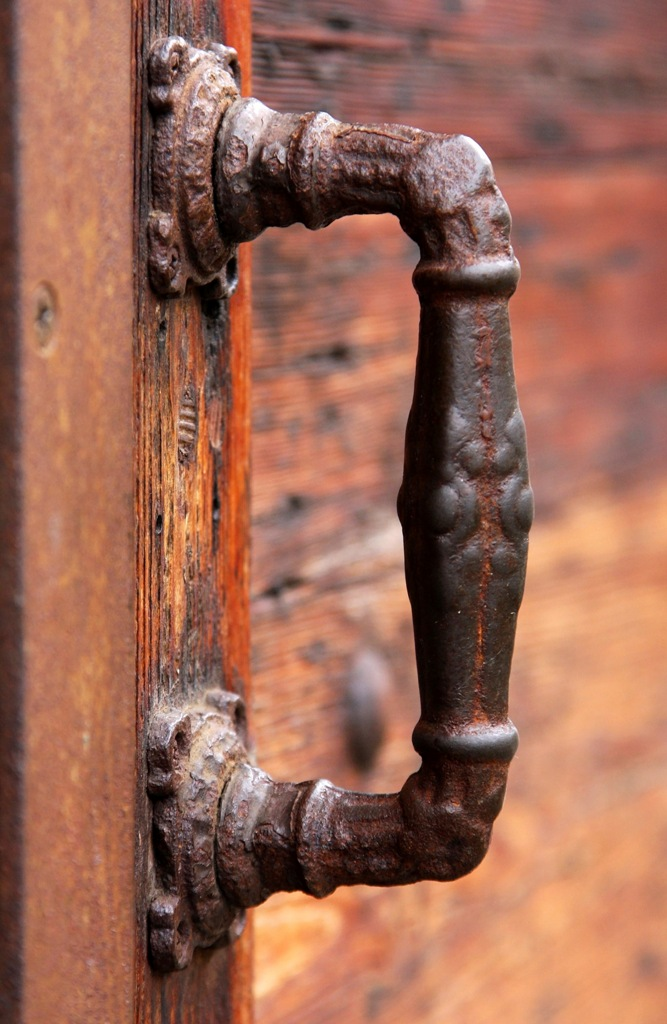 door handle in Venice by Terrill Welch 2014_04_21 007