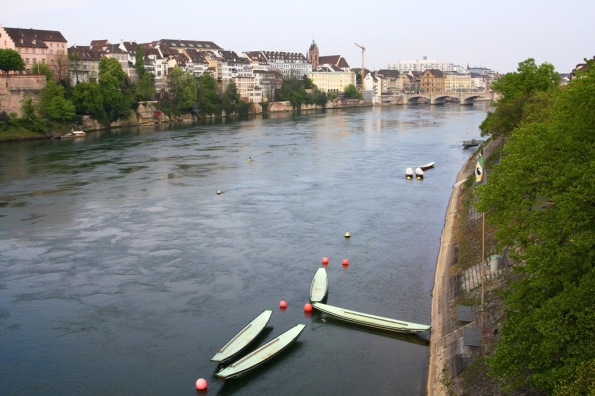 looking over the Rhine Basel Switzerland by Terrill Welch 2014_04_13 032