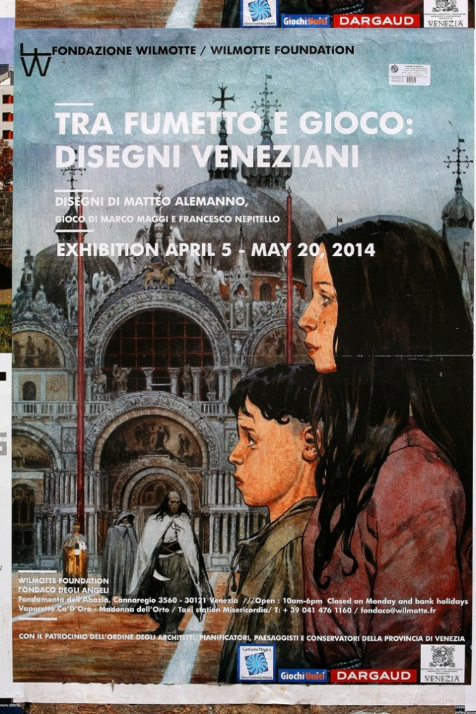 on the wall in Venice Italy by Terrill Welch 2014_04_19 141