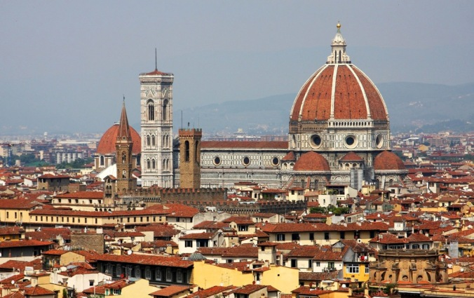 Piazza del Duomo Florence Italy  by Terrill Welch 2014_04_26 137
