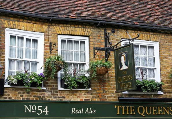 Real Ales  since 1544 Uxbridge England by Terrill Welch 2014_04_05 050