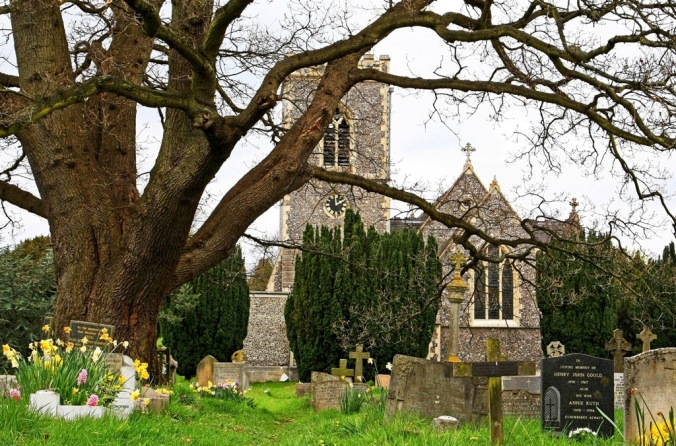 The Pairsh Church of Iver Heath England  by Terrill Welch 2014_04_04 006