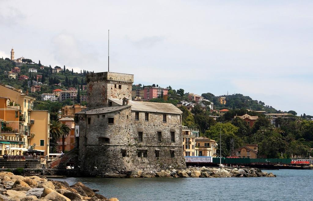 Castello sul Mare 1550 Rapallo Italy by Terrill Welch 2014_05_08 092