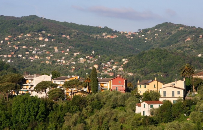 From the hillside in Rapallo Italy by Terrill Welch 2014_05_08 030