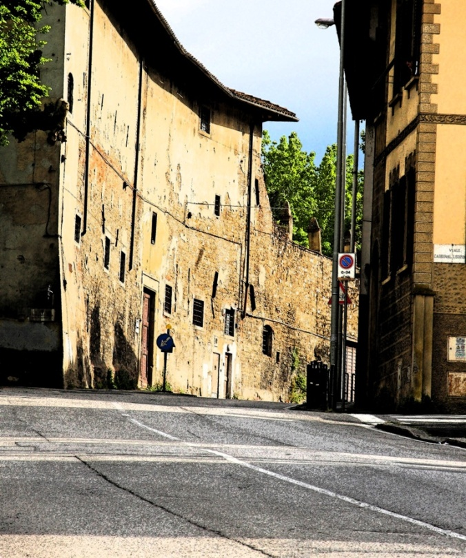 ink outline on the old road to Rome by Terrill Welch 2014_05_03 042