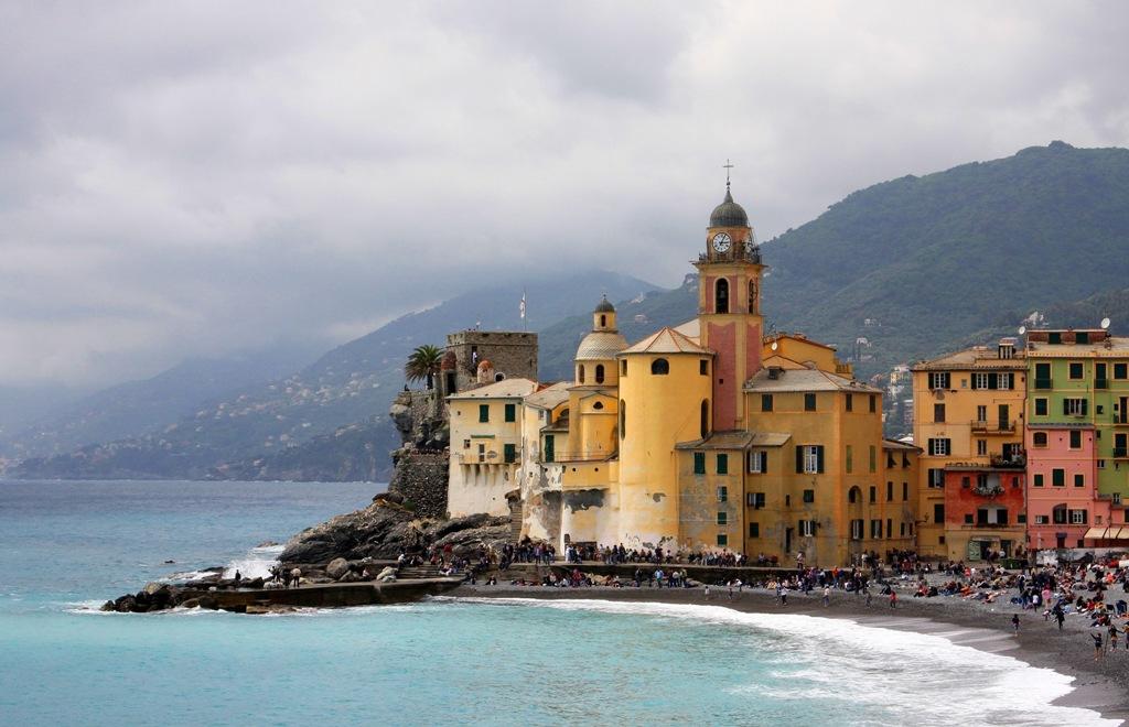 Italian fishing village Festival rain or shine  by Terrill Welch 2014_05_11 182