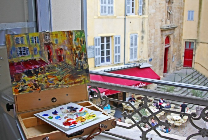 plein air window in Aix en Provence by Terrill Welch 2014_05_18 062