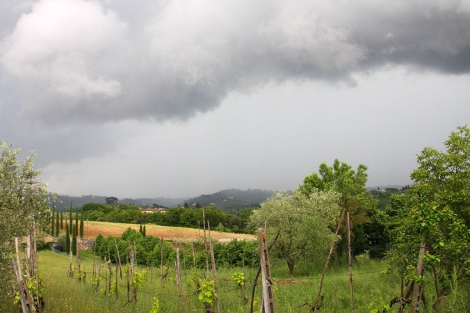 rolling thunder on the Tuscan Hills by Terrill Welch 2014_05_03 001