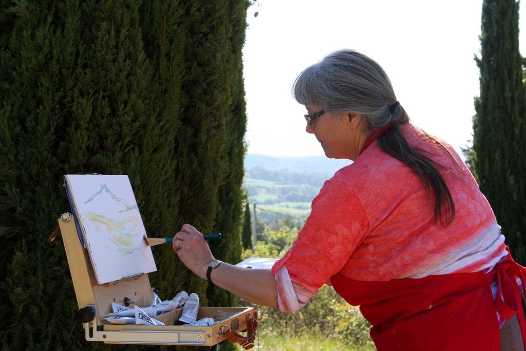 Terrill Welch plein air on Painters Ground by Mme Miceli Brigitte  2014_05_18 103