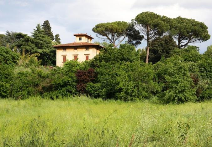 villa across a Tuscan Field by Terrill Welch 2014_05_03 035