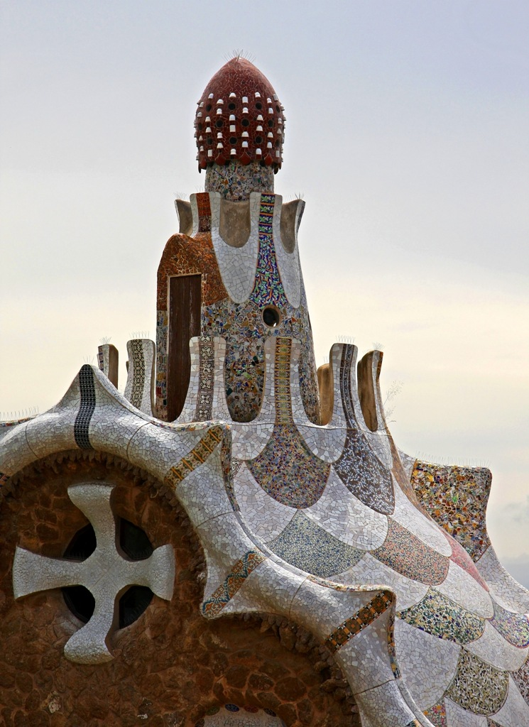 Cloud to Cloud Park Guell by Terrill Welch 2014_05_27 165