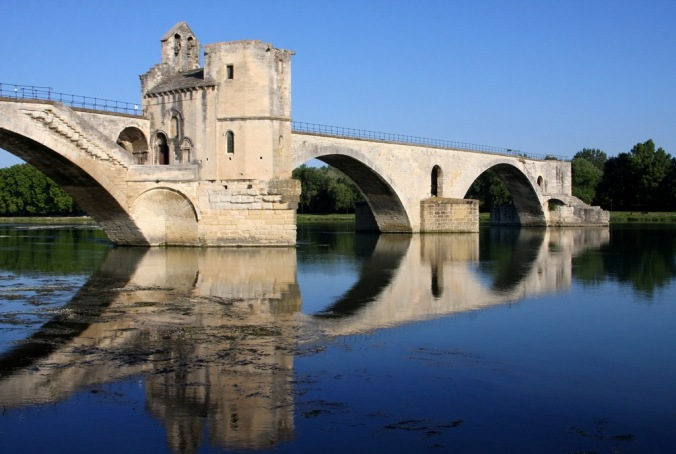 morning by the Pont D' Avignon by Terrill Welch 2014_06_011 026