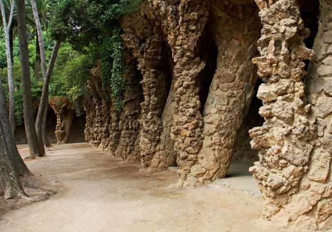 Tree to Tree in Park Guell Barcelona Spain by Terrill Welch 2014_05_27 102