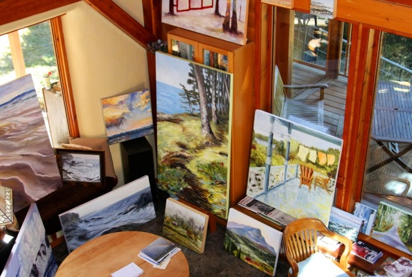 late August morning in the home studio by Terrill Welch 2014_08_26 012