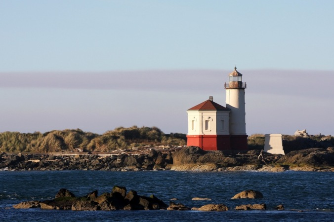 Coquille River Lighthouse Bandon Oregon by Terrill Welch 2015_02_23 433