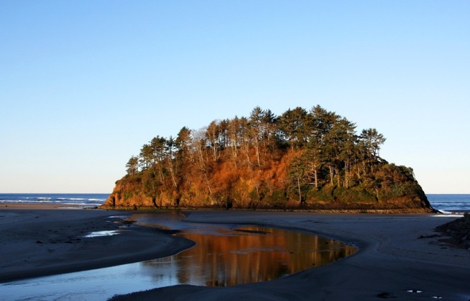 first sun in  morning Neskowin Oregon by Terrill Welch 2015_02_22 001