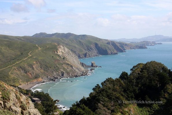 California coast from Muir Beach overlook south by Terrill Welch 2015_03_04 022