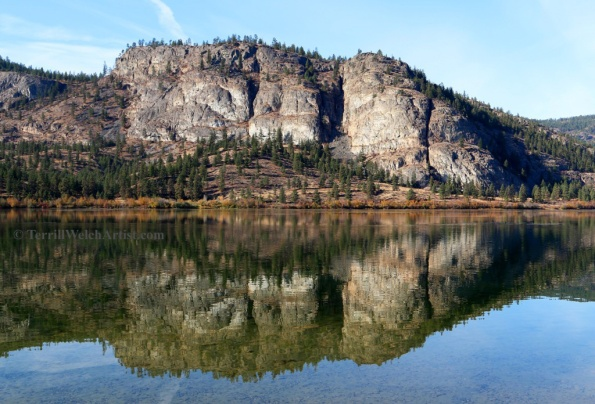 sleeping giant at Vaseux Lake British Columbia by Terrill Welch 2015_10_30 109