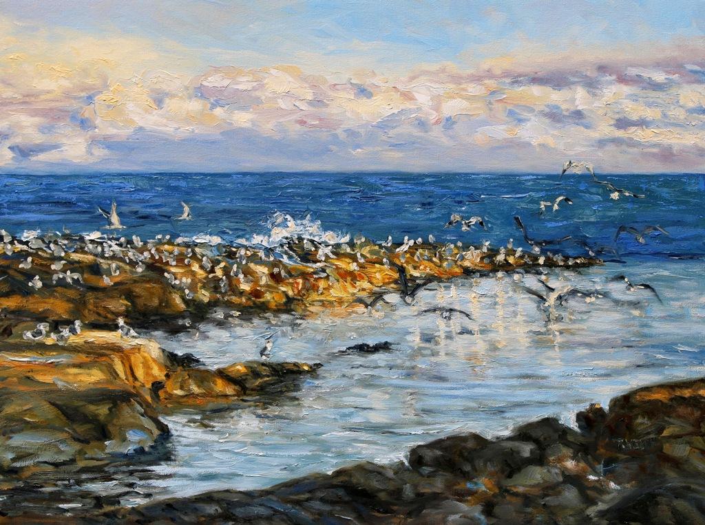 Winter 18 x 24 inch walnut oil on canvas by Terrill Welch 2015_11_10 024