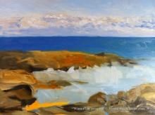 Winter 18 x 24 inch walnut oil on canvas in progress 3 by Terrill Welch 2015_11_03 005
