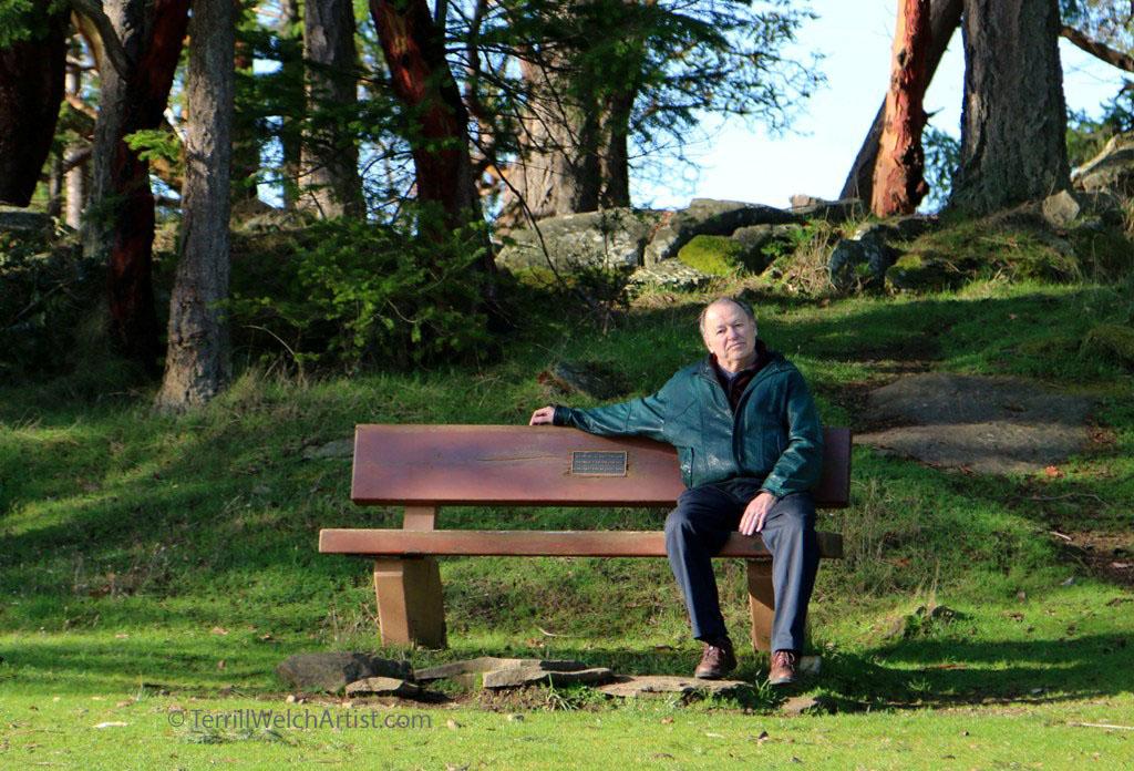 David taking a break by Terrill Welch  IMG_8417