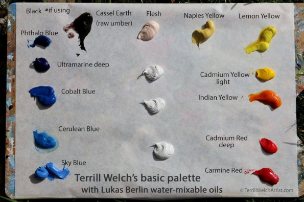 2. setting out palette by Terrill Welch IMG_9192