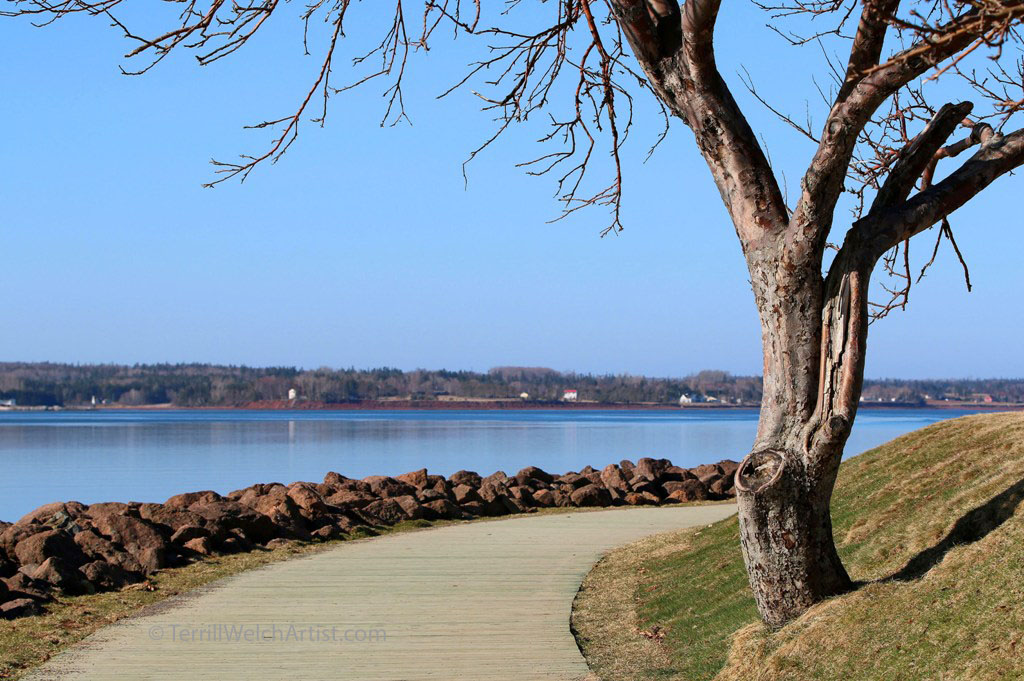 boardwalk Victoria Park Charlottetown PEI by Terrill Welch IMG_3047