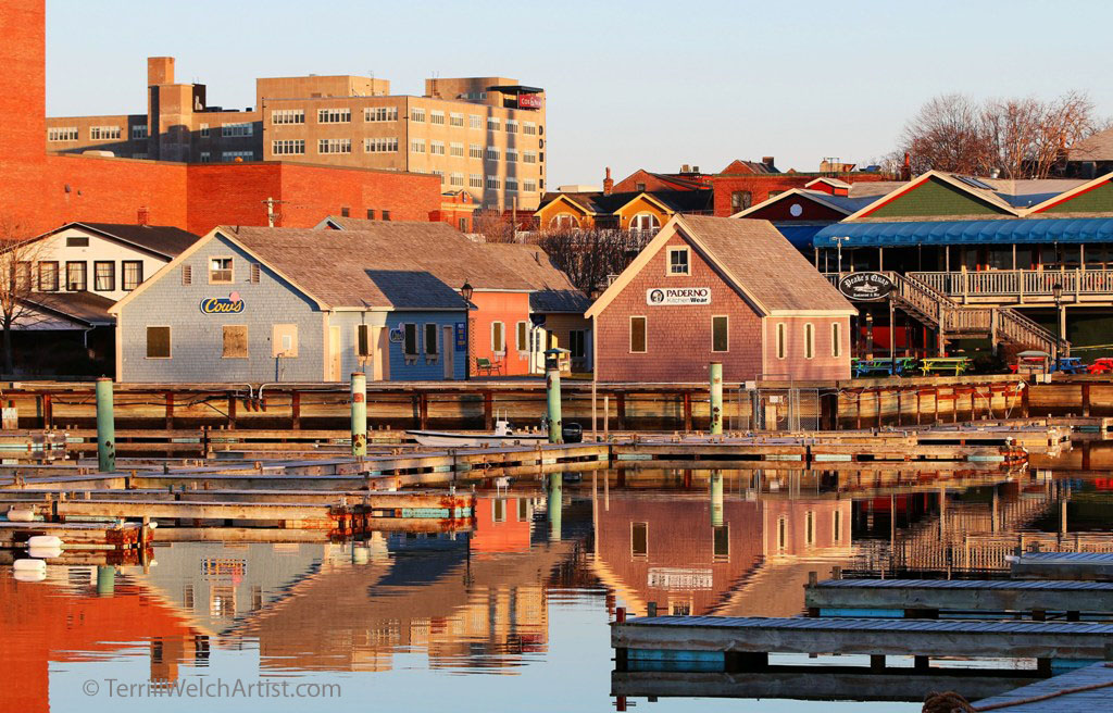 Lower Water Street Charlottetown PEI by Terrill Welch IMG_3040