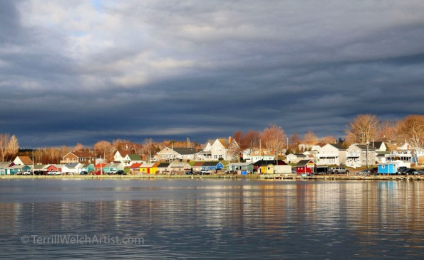 North Rustico bathed in early morning sun PEI by Terrill Welch IMG_3688