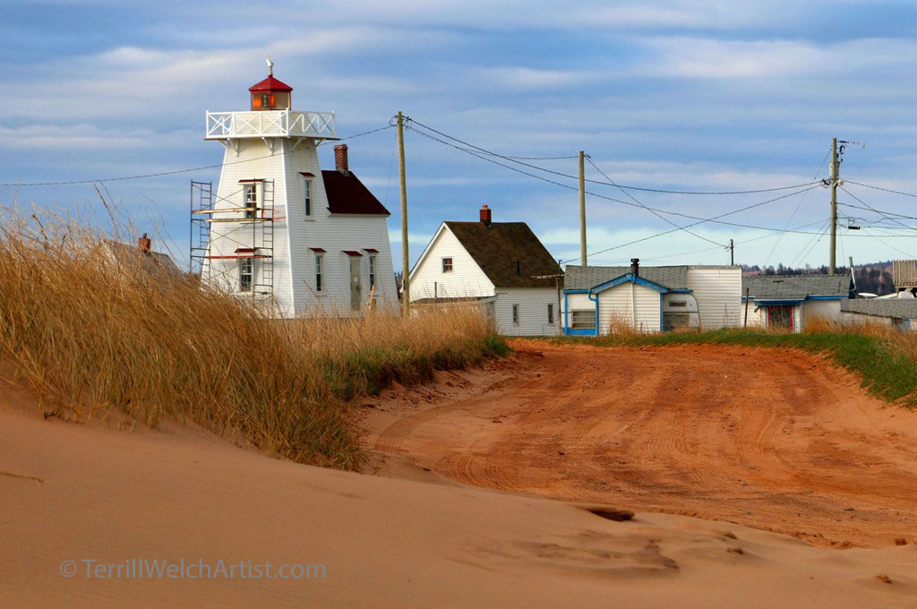 North Rustico Lighthouse PEI by Terrill Welch May 11 2016 IMG_3733