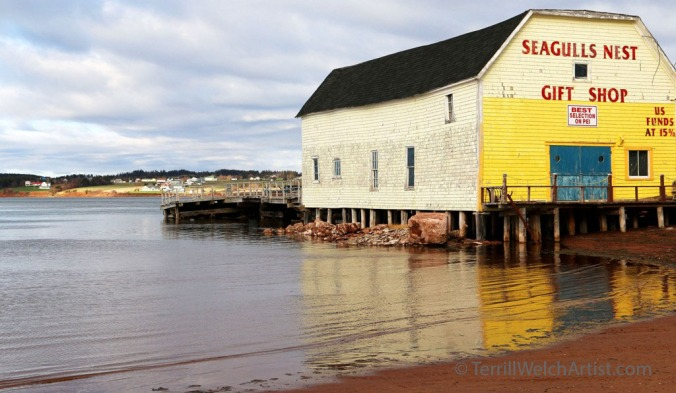 Seagulls Nest Rustico Harour PEI by Terrill Welch IMG_3701