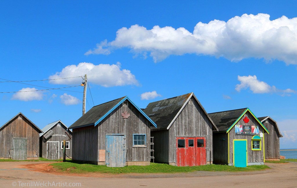 Georgetown Harbour PEI by Terrill Welch IMG_4896