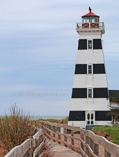 West Point Lighthouse 1875 PEI by Terrill Welch IMG_4851