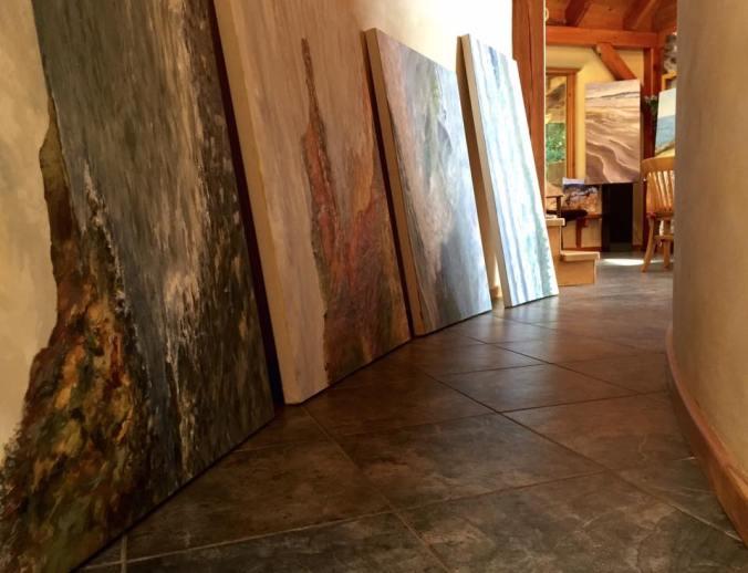 Gossip overheard in the the artist's studio by Terrill Welch